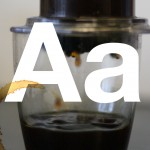 A is for Aeropress (stain)